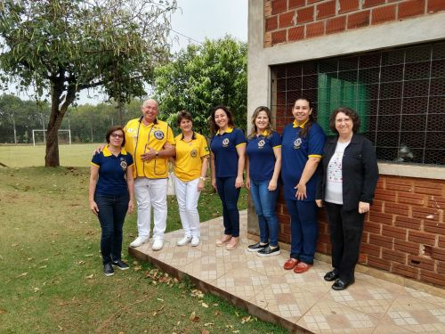 Governador do Lions Clube e integrantes do clube de serviço visitam prefeitura