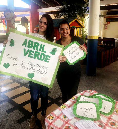 """Equipe da Unidade de Saúde Josefina desenvolveu ação voltada ao """"Abril Verde"""""""