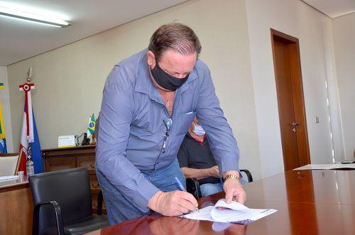 Assinada ordem de serviço para conclusão do recape da Rodovia Ercides Rosseto