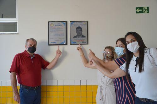 Com homenagem ao saudoso vice-prefeito Nil Pereira CMEI é inaugurado em Ubiratã