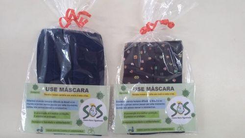 S.O.S Cicero Nuto Figueiredo produz máscaras para seus alunos e familiares e faz conscientização