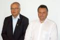 Secretário estadual de Meio Ambiente, Jonel Iurk e o presidente da Comcam, Fábio D'Alécio