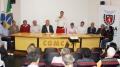 Presidente da Comcam destacou o projeto regional de destinação de resíduos sólidos