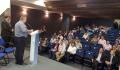 A explanação do prefeito Baco aconteceu em Curitiba, na sede da Celepar