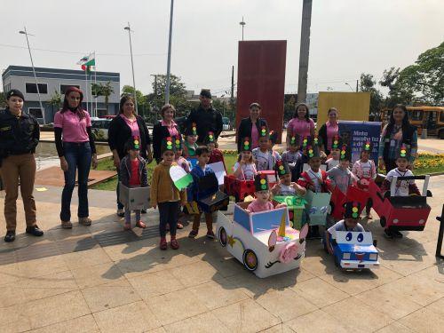 Semana da conscientização do trânsito na educação infantil - CMEI Nosso Lar