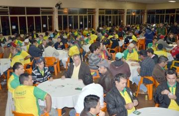 O campeonato reúne pessoas de Ubiratã e de outros municípios distantes