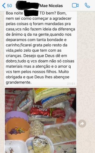 S.O.S Cícero Nuto Figueiredo encerra as atividades de 2020