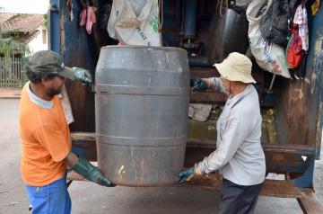 Diariamente são cerca de 18 toneladas de lixo recolhidas no município de Ubiratã