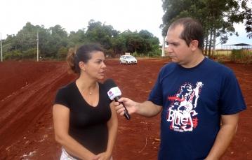 Cleide Carvalho destaca que é necessário a população fazer a separação do lixo reciclável do lixo orgânico