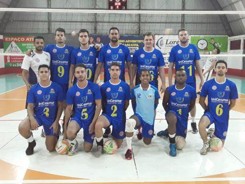 Ubiratã começa temporada de Voleibol 2019 com vitórias