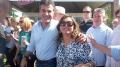 O governador Beto Richa durante encontro com a primeira dama de Ubiratã