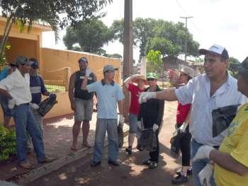 A participação da comunidade como agente voluntário é fundamental para ajudar no combate ao aedes aegypti