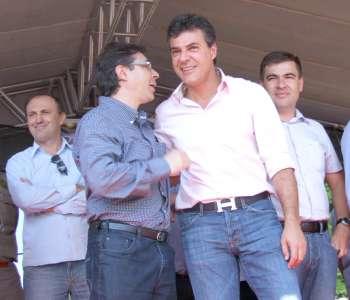Vice-prefeito Orlando Vieira Filho agradeceu ao governador pelo comprometimento para com Ubiratã