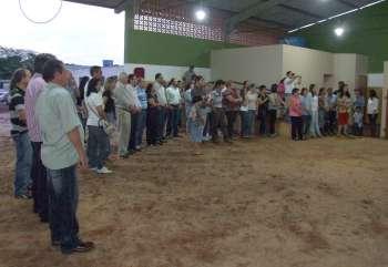 Representantes de diversos segmentos da sociedade ubiratanense prestigiaram a inauguração do espaço destinado a equoterapia