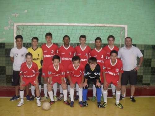 A equipe Infantil também foi campeã da Copa Tribuna, com atleta destaque e goleiro menos vazado