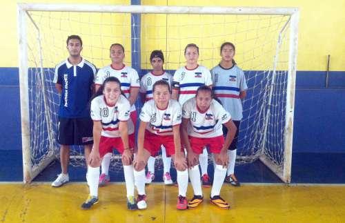 A equipe feminina além do título teve a goleira menos vazada e o técnico destaque da competição