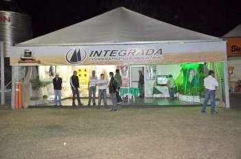 A cooperativa Integrada montou seu estande na Expobira 2011