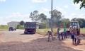 Os serviços de recuperação do asfalto tiveram início na tarde dessa segunda-feira