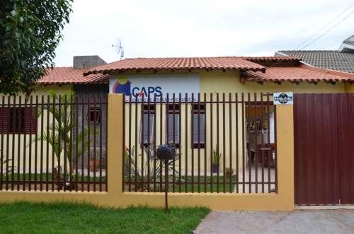 CAPS em novo endereço, Rua Ernesto Novaes de Souza, 1498