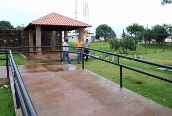 Um quiosque também foi construído ao lado do complexo esportivo do Jardim Panorama