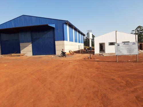 Barracão de materiais recicláveis