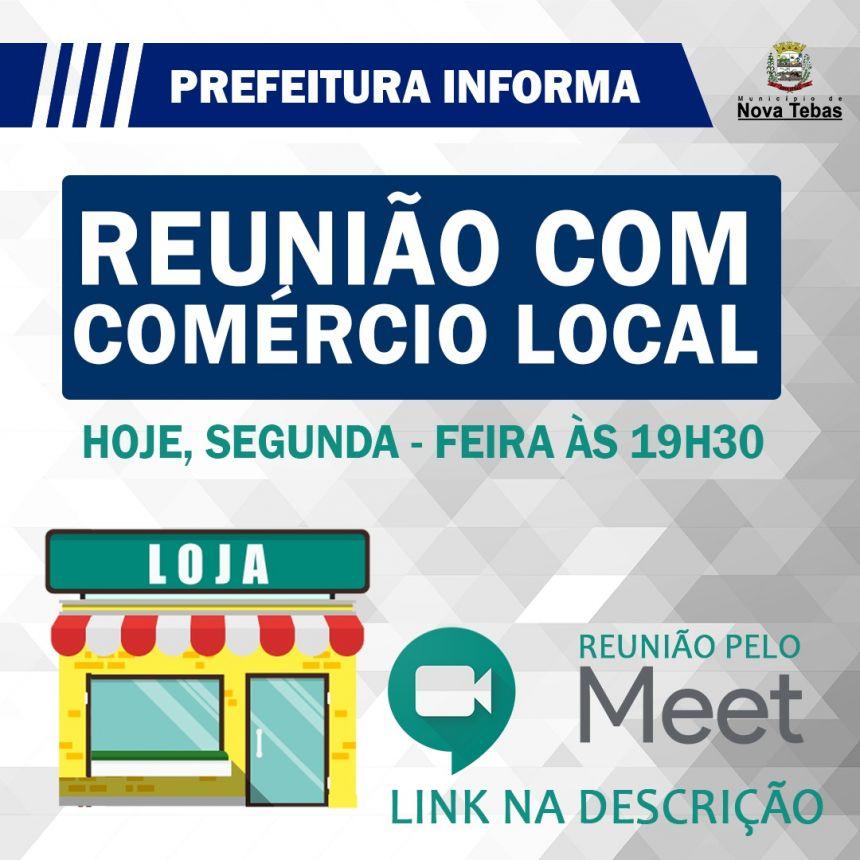 Reunião Comércio Local
