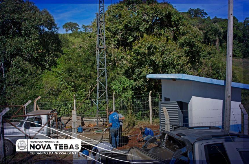 ÁGUA DE QUALIDADE PARA MAIS DE 60 FAMÍLIAS DO INTERIOR DE NOVA TEBAS