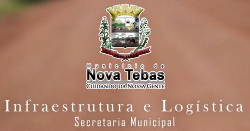 Secretaria de Infraestrutura e Logística (Pátio).