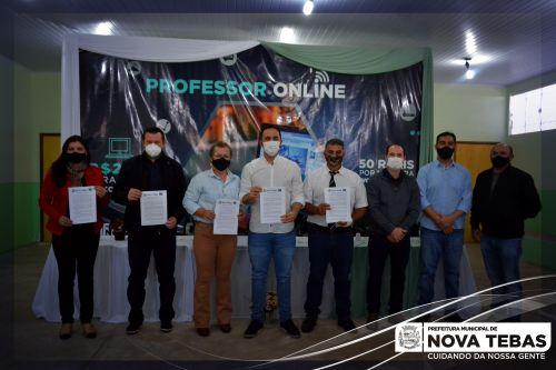 Evento lançamento Professor On-line