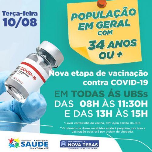 Vacinação +34