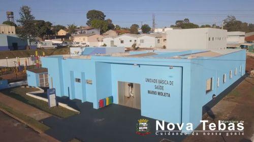 Reabertura da Unidade Básica de Saúde Mario Moleta