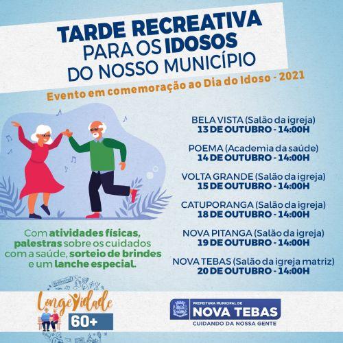 Eventos em comemoração ao dia do idoso 2021 - confira a programação
