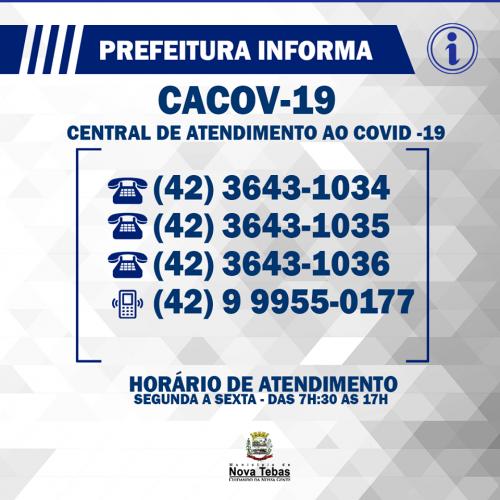 Centro de Atendimento ao Coronavírus, CACOV-19