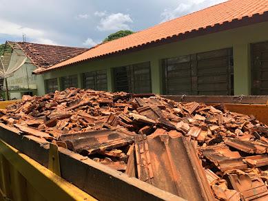 Cobertura da Escola Municipal Rita de Cássia