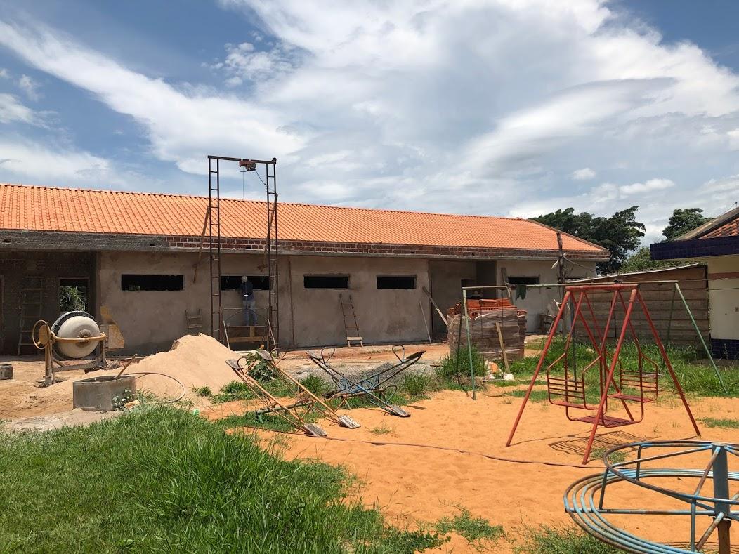 Construção Salas de Aula CMEI João Marcos
