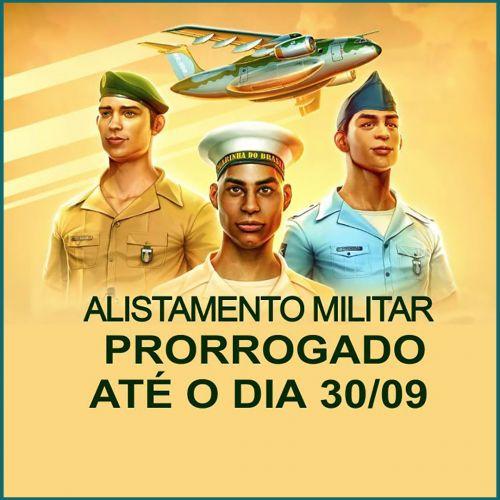 Alistamento Militar é prorrogado até o dia 30 de setembro