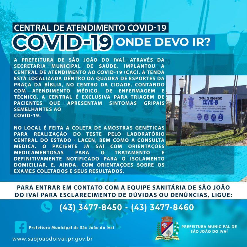Atendimento COVID19
