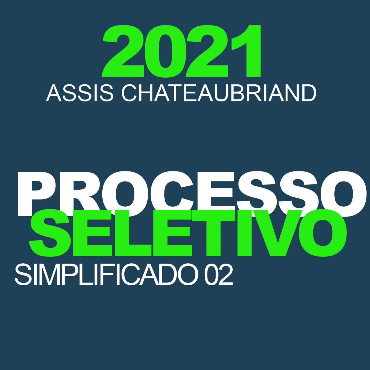 Município de Assis Chateaubriand divulga classificação preliminar do PSS-2