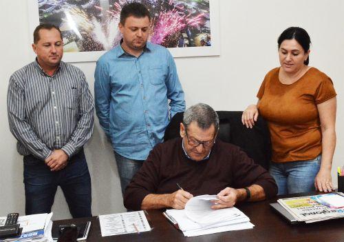 Patrimônio São Pedro e Aterro Sanitário receberão pavimentação poliédrica