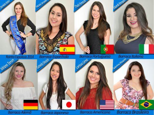 Rainhas da Expo Assis são apresentadas à comunidade