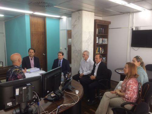 Atendimentos de Saúde é tema de reunião de Micheletto com Tribunal de Contas