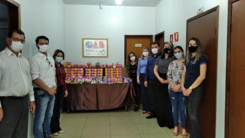 Campanha Absorvendo Afeto da OAB repassa itens básicos de higiene pessoal para Assistência Social de Assis Chateaubriand