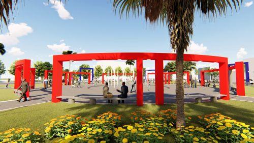 Nova Praça dos Pioneiros tem projeto apresentado