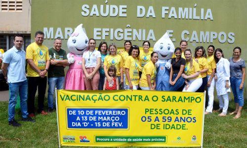 Campanha contra sarampo mobilizou Saúde de Assis no sábado