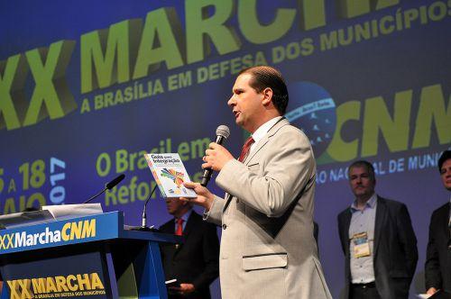 Marcel Micheletto, fez hoje um balanço positivo da XX Marcha a Brasília