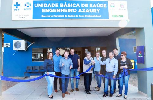 Governo Municipal inaugura unidade de saúde, arenas esportivas e entrega veículos