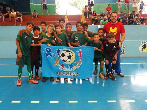 Futsal infantil vence mais uma em Nova Aurora
