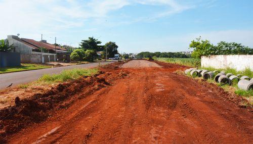 Começa a obra para duplicação da Avenida Industrial