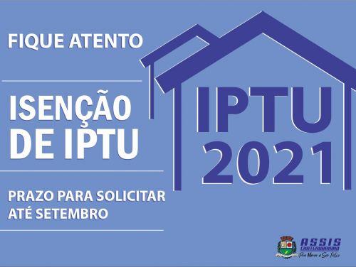 Pedido de isenção do IPTU vai até setembro em Assis Chateaubriand