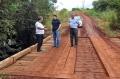 Ponte sobre o Rio da Corda, no Ramal Beija flor foi completamente refeita após ter sido quebrada nas últimas semanas